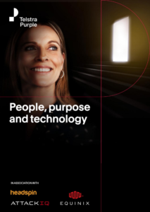 People, purpose and technology