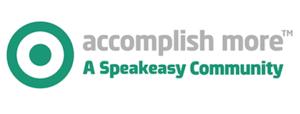 accomplish more logo