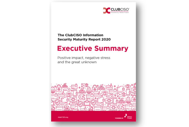 club ciso executive report cover image