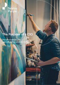 Purpose of a CIO Whitepaper Cover